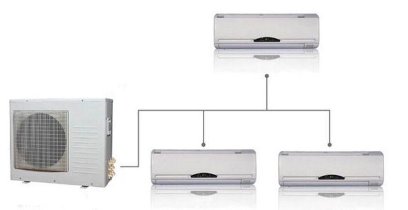 Instalación de aire acondicionado Multisplit