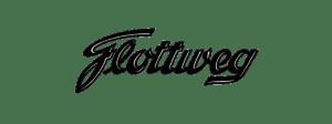 Diseño clásico del logo de Flottweg