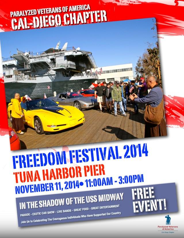Freedom Festival 2014 Flyer