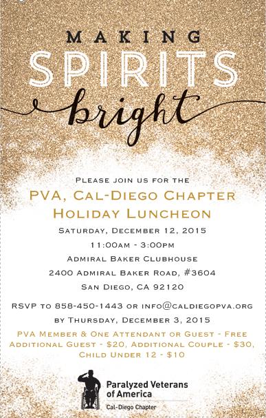 PVACD 2015 Holiday Invite