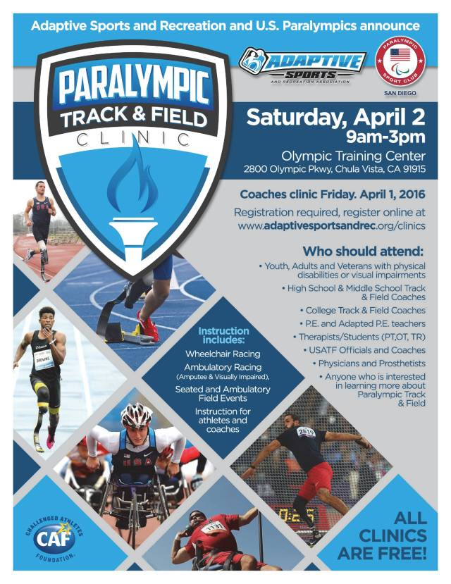 track clinic flyer 040216