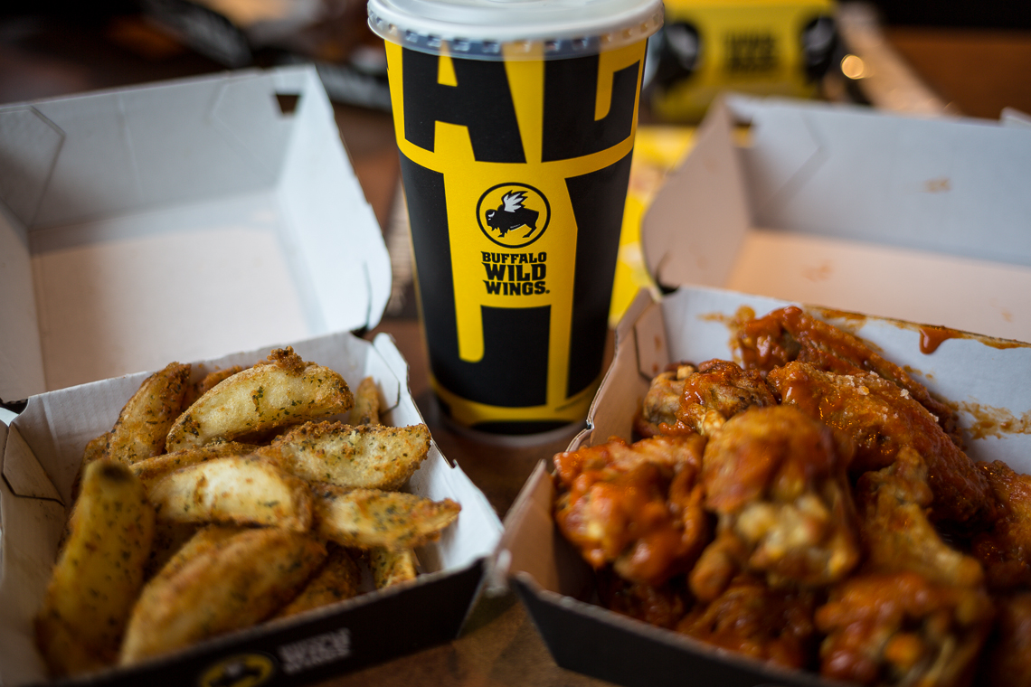 Buffalo Wild Wings for lunch