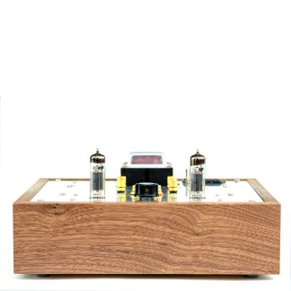6BM8/ECL82 SE Classique Kit - with a custom made walnut casing (enclosure Model B)