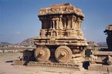 Stone chariot Hampi