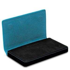 "Piquadro porta bigliettini da visita in pelle ""B2 – Blue Square"" PP1263B2.BLU"