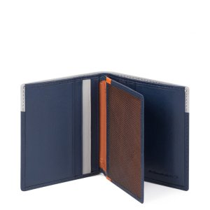 "Piquadro porta carte di credito in pelle ""UB00R – Urban"" Blu PP1518UB00R.BLGR"