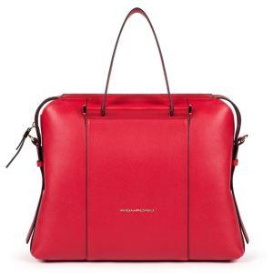 """Piquadro borsa cartella da lavoro in pelle """"W92 – Circle"""" Rosso CA4577W92.R3"""