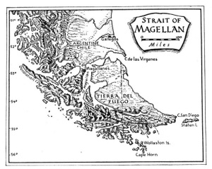 Магеллан открыл пролив, названный впоследствии Магеллановым
