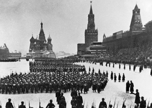 Состоялся парад советских войск на Красной площади в Москве, приравненный к важнейшей боевой операции