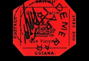 Начались приключения самой редкой из когда-либо напечатанных марок