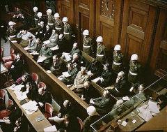 Начало Нюрнбергского процесса — суда над военными преступниками Третьего рейха