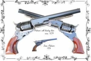 Сэмюэл Кольт получил в США первый патент на автоматический револьвер