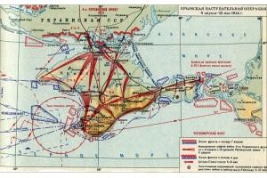 Началась Крымская стратегическая наступательная операция Красной Армии в годы Великой Отечественной войны