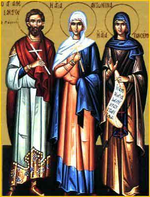 Sfintii mucenici Alexandru si Antonina