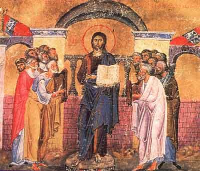 Iesirea lui Iisus la propovaduire