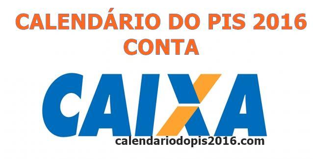 Calendário do PIS 2016 para quem tem conta na Caixa