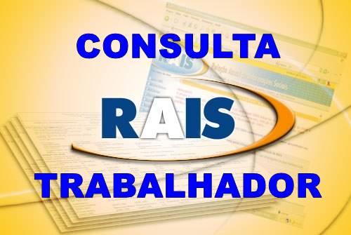 Consultar RAIS Trabalhador 2016