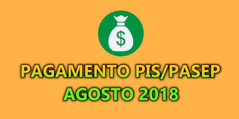 Pagamento do PIS 2018 para nascidos em agosto
