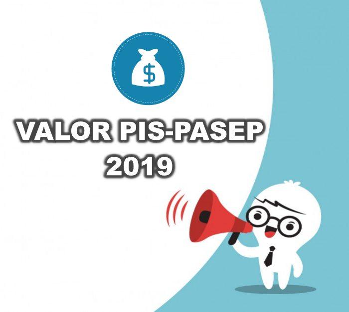 valor do pis-pasep 2019