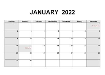 Sure, digital calendars are convenient — we can take them everyw. Printable 2022 PDF Calendar Templates - CalendarLabs