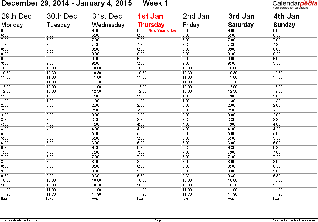 2014 12 Hour Shift Calendar