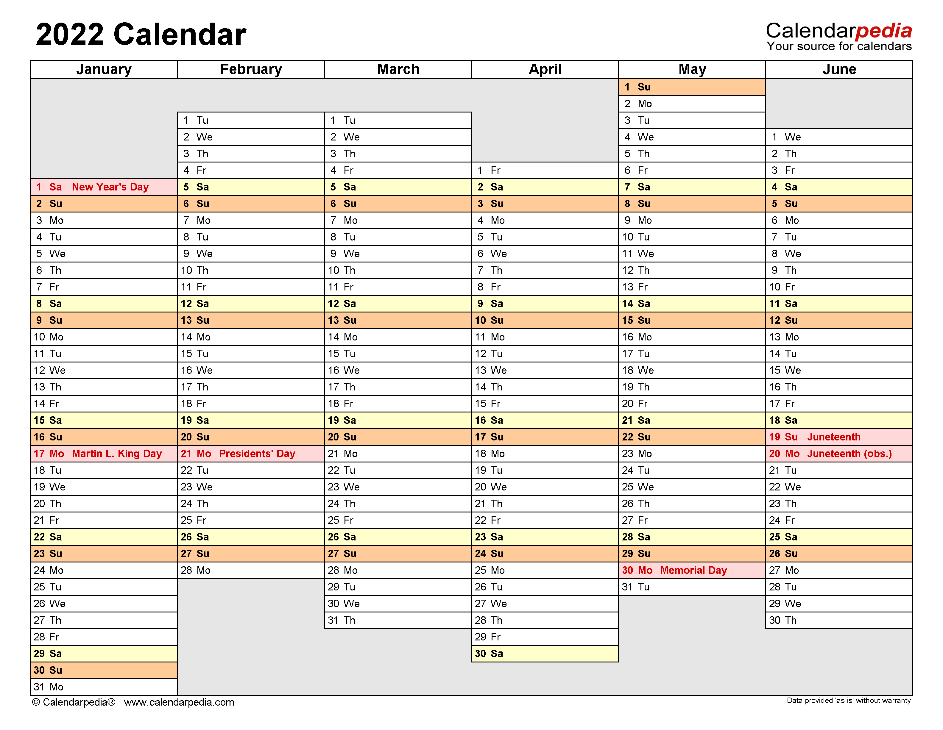 It has many uses and can be used to plan work strategies that you will implement in the twelve months of the year. 2022 Calendar - Free Printable PDF Templates - Calendarpedia
