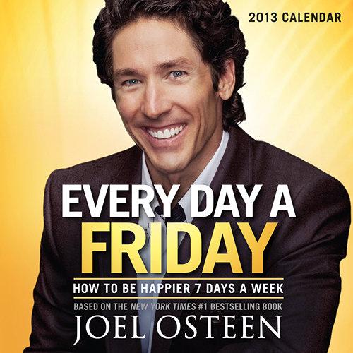 Joel Osteen motivational success desk calendars 2019