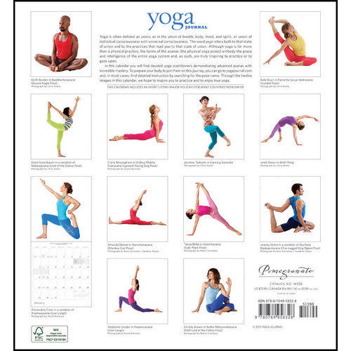 Yoga Planners and Calendars 2017