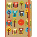 Owls Planner Cover