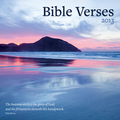 Bible Verses Calendar 2013
