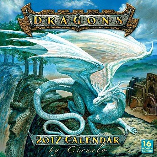 Fantasy Dragon calendars and planner by Ciruelo Cabral