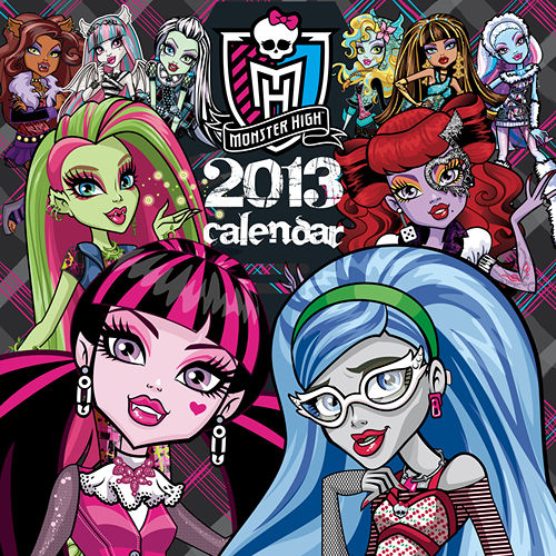 Monster High Calendar 2017