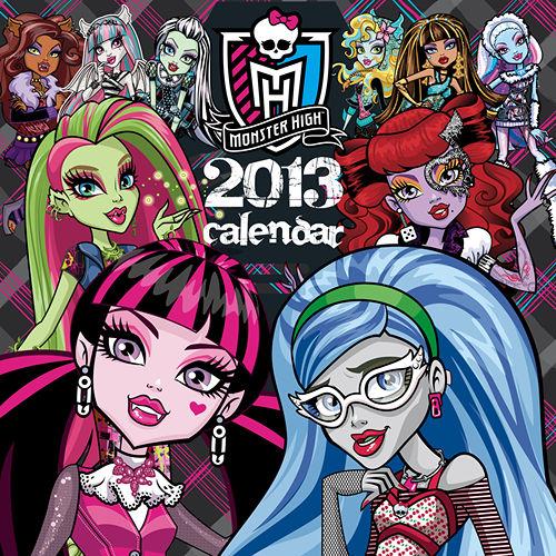 Monster High Calendar 2017