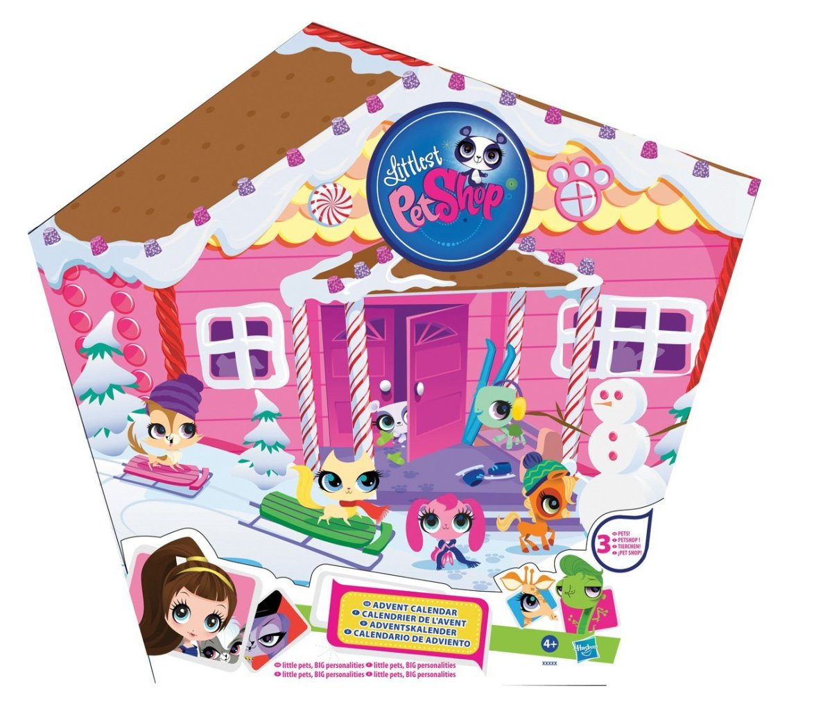Littlest pet shop advent calendar 2019,