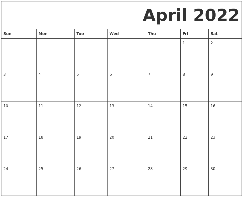 Image Result For Printable Free Calendar