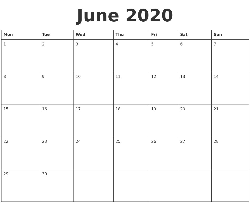 Image Result For Template For Calendar