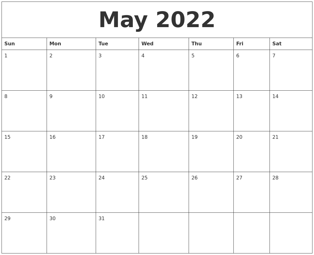 Print free january 2022 calendar images for office routine works.if you need any calendar template then you have to go to search bar and search your favourite category. May 2022 Calendar Pages