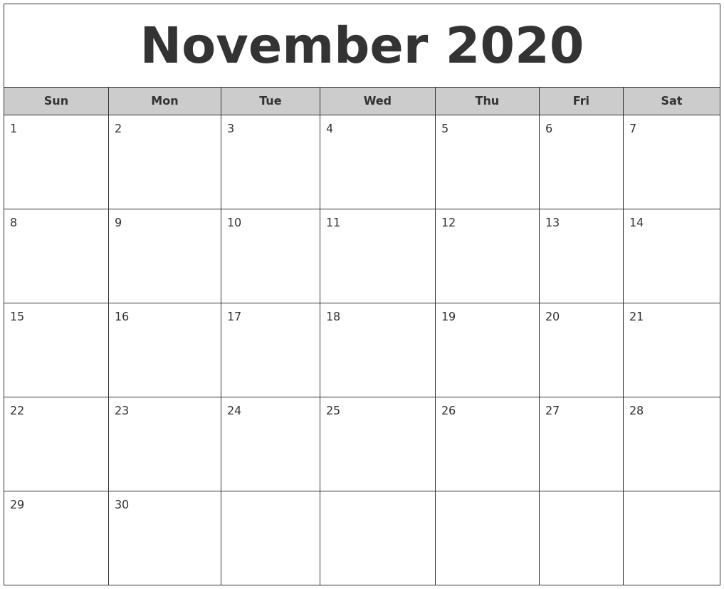 Image Result For Monthly Calendar Free