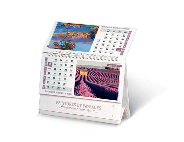 Calendriers Publicitaires Chevalets Collection 2019