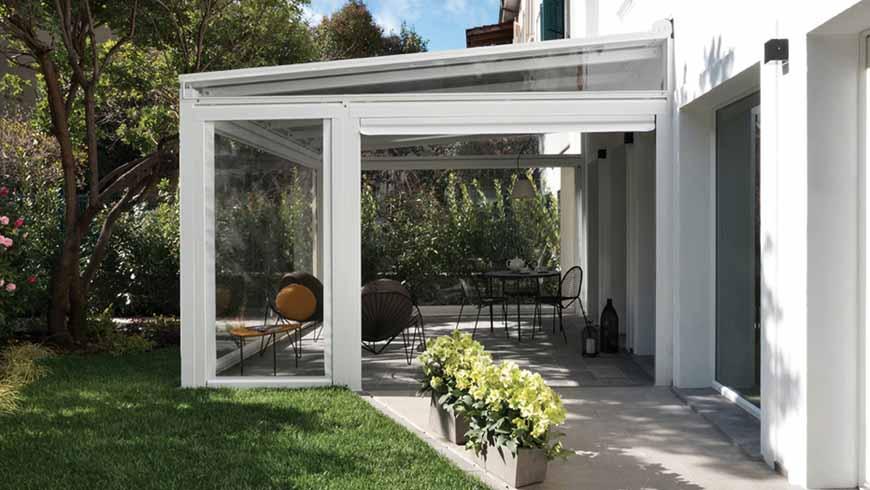 Moskito è in grado di soddisfare le tue esigenze e di realizzare una tenda da sole per esterno su misura. Tende In Cristal Per Vivere L Outdoor Tutto L Anno Calestani