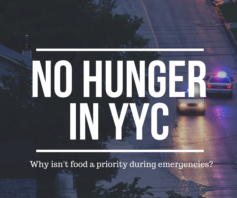 No hunger in YYC
