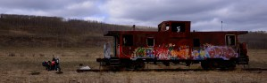 1190 with train car.