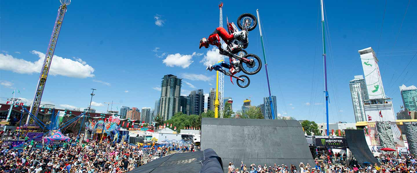 Monster Energy Compound Calgary Stampede July 3 12 2020