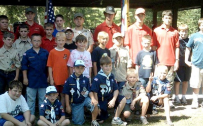 Beaverton Scouts Hold Campout