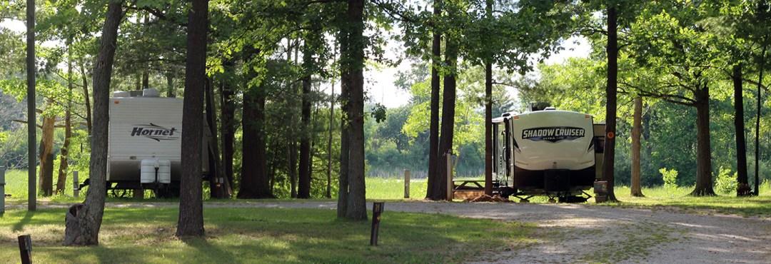 Rates for Calhoun Campground sites