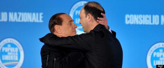 Berlusconi Alfano
