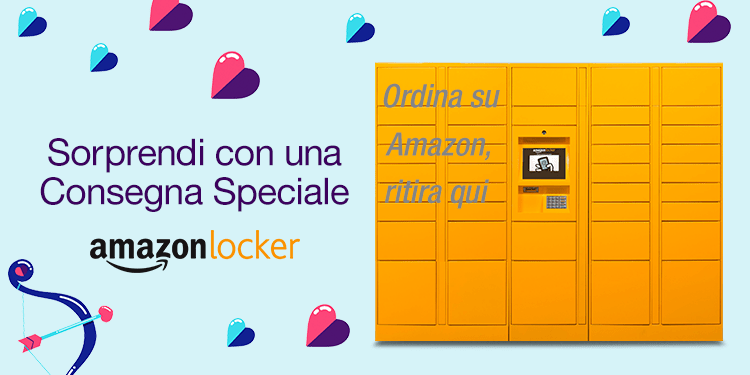 Amazon Locker in Sicilia: Enrica è ad Alcamo!
