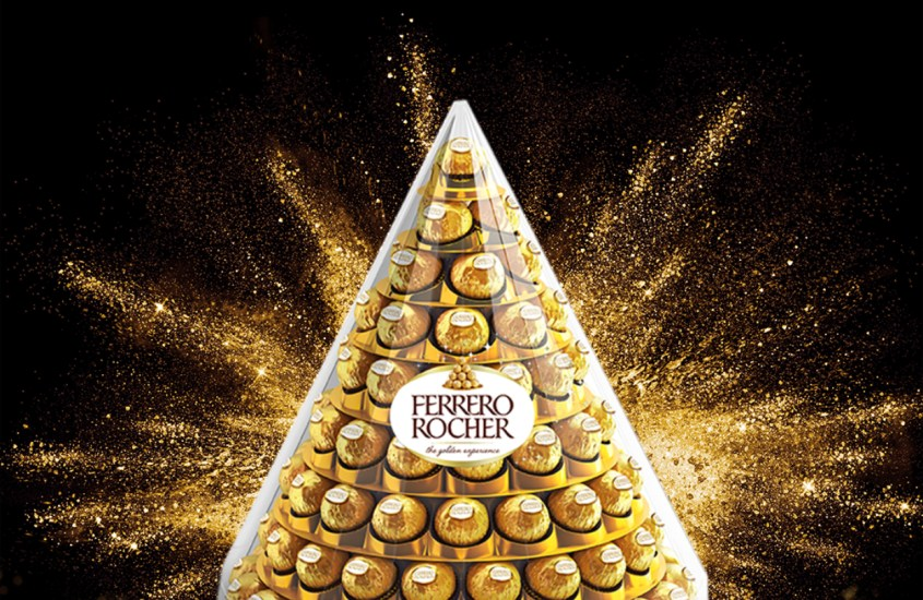 Ferrero rocher piramide amazon