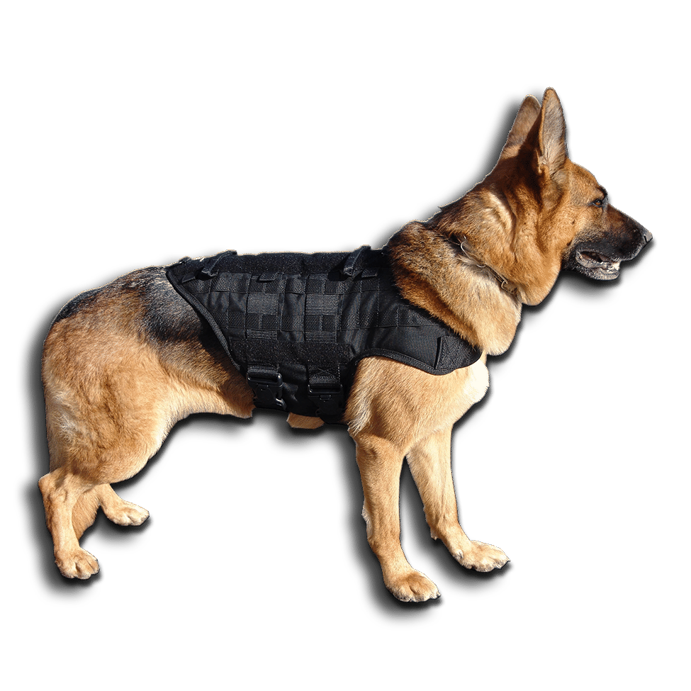 Caliberdog K9 Tactical Molle Vest
