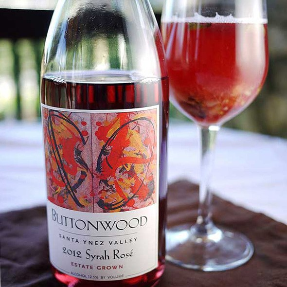 Buttonwood Rose Syrah Sangria